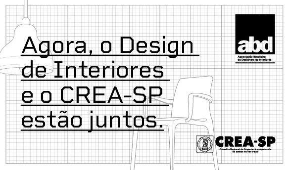 Read more about the article Designers de Interiores são incorporados ao Crea-SP